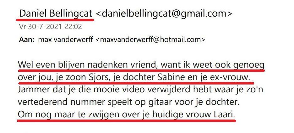 Daniel Bellingcat